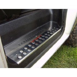 Nakładki progowe chrom z napisem Volkswagen T4 3DR