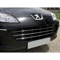 Listwy atrapy przedniej Peugeot 407