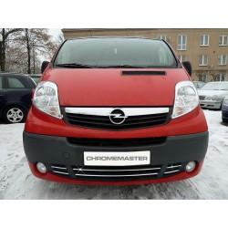 Listwy atrapy zderzaka przedniego Opel Vivaro FL