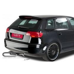 Spoiler tylne skrzydło spojlera Audi A3 8P 5DR Sportback