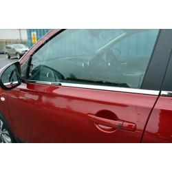 Listwy pod szyby boczne Nissan Qashqai
