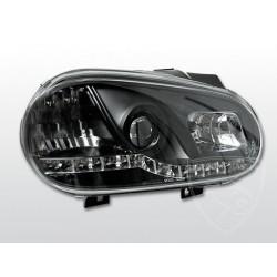 Lampy przednie Daylight Black Volkswagen Golf 4