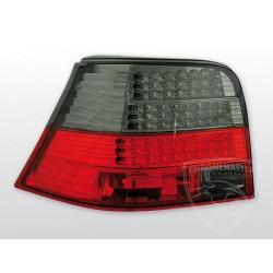 Lampy tylne diodowe Red Smoke Volkswagen Golf 4 Hatchback