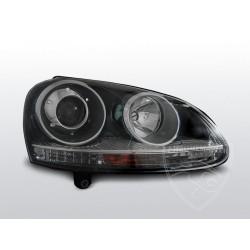 Lampy przednie GTI Black Volkswagen Golf 5