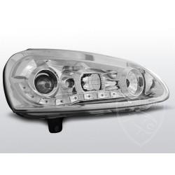 Lampy przednie Daylight Chrome Volkswagen Golf 5