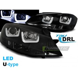Lapmy przednie U-TYPE Black Volkswagen Golf 7