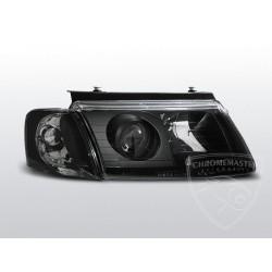 Lampy przednie Black Volkswagen Passat B5