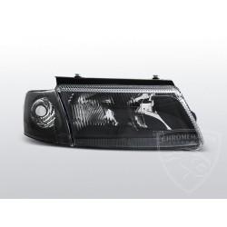 Lampy przednie Black z halogenem Volkswagen Passat B5