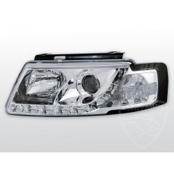 Lampy przednie Daylight Chrome Volkswagen Passat B5