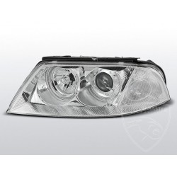 Lampy przednie Angel Eyes Chrome Volkswagen Passat B5 FL