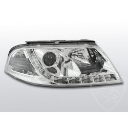 Lampy przednie Daylight Chrome Volkswagen Passat B5 FL