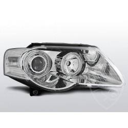 Lampy przednie angel Eyes Chrome Volkswagen Passat B6