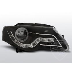 Lampy przednie Daylight Black Volkswagen Passat B6