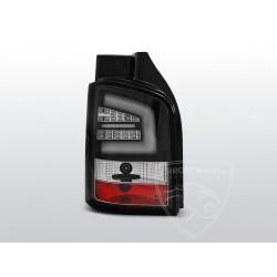 Lampy tylne Black Led Bar Volkswagen T5 Klapa