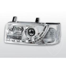 Lampy przednie Daylight Chrome Volkswagen T4