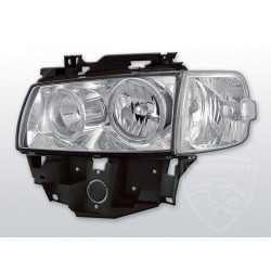 Lampy przednie Angel Eyes Chrome Volkswagen T4