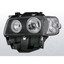 Lampy przednie Angel Eyes Black Volkswagen T4
