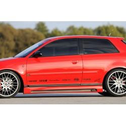 Dokładka progów Carbon Look Audi A3 8L