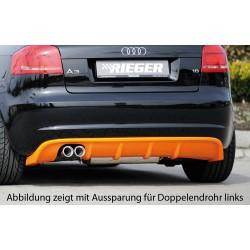 Tylny dyfuzor Audi A3 8P 5DR 2008+