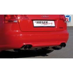 Dokładka tylnego zderzaka Audi A4 B7
