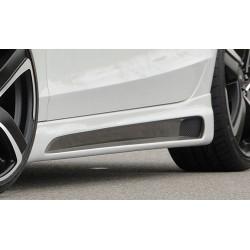 Dokładki progów Carbon Look Audi A4 B8