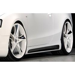 Dokładki progów Carbon Look Audi A5 B8