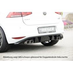 Dyfuzor tylnego zderzaka Volkswagen Golf 7