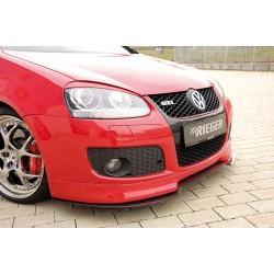 Dokładka przedniego zderzaka Volkswagen Golf 5 GT/GTI