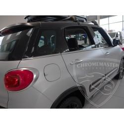 Listwy pod szyby boczne Fiat 500L