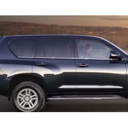 Listwy pod szyby boczne Toyota Land Cruiser J150