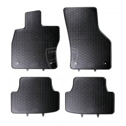 Dywaniki gumowe Czarne Geyer Seat Leon 3