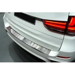 Nakładka z zagięciem na zderzak (stal szczotkowana) BMW X5M F15