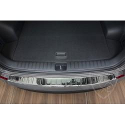 Nakładka z zagięciem na zderzak (stal szczotkowana) Hyundai Tucson 3