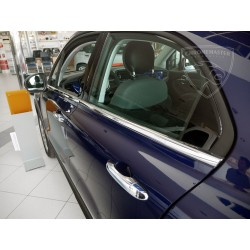 Listwy pod szyby boczne Fiat 500X