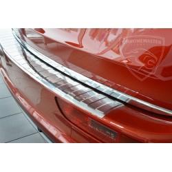 Nakładka z zagięciem na zderzak (stal szczotkowana) Audi Q5