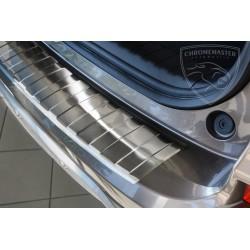 Nakładka z zagięciem na zderzak (stal szczotkowana) Honda CRV-V IV FL 2015+