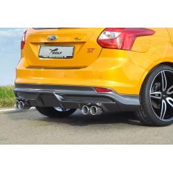 Dokładka tylnego zderzaka Carbon-Look Ford Focus 3 ST