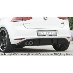 Dokładka tylnego zderzaka Volkswagen Golf 7 GTD
