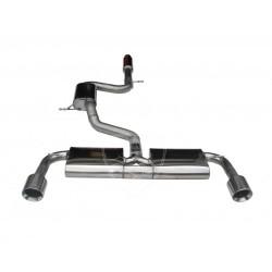 Wydech środkowy i końcowy BN-Pipes Volkswagen Golf 7 GTI 100mm