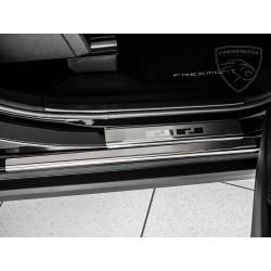 Nakładki progowe (stal) Fiat Freemont