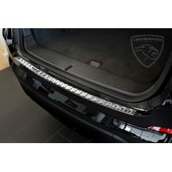 Nakładka z zagięciem na zderzak (stal szczotkowana) BMW X4 F26