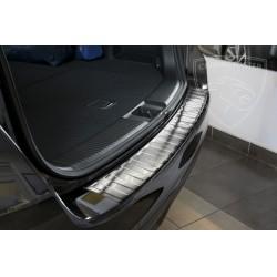 Nakładka z zagięciem na zderzak (stal szczotkowana) Subaru Levorg
