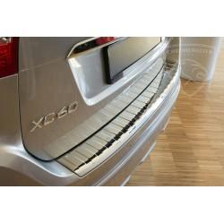 Nakładka z zagięciem na zderzak REAL CHROME Volvo XC60 FL