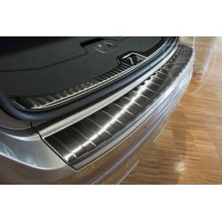Nakładka z zagięciem na zderzak grafitowa Volvo XC60 FL