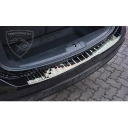 Nakładka z zagięciem na zderzak REAL CHROME Volkswagen Sharan 2
