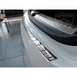 Nakładka z zagięciem na zderzak (stal szczotkowana) Mercedes GLE