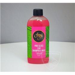 Szampon z woskiem Pink Gloss Car Shampoo&Wax 500 ml
