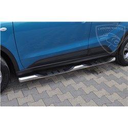 Orurowanie boczne ze stopniami BB005 Suzuki Vitara 2015+