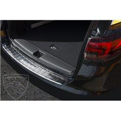 Nakładka z zagięciem na zderzak (stal szczotkowana) Opel ASTRA V 5 K Sports Tourer