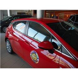 Listwy wokół szyb bocznych Opel Astra V 5 K Hatchback